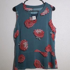 CAbi Blushing Floral Blouse Style #3445